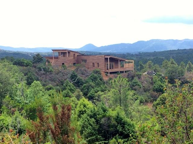 Maison en bois d'architecte - Forêt