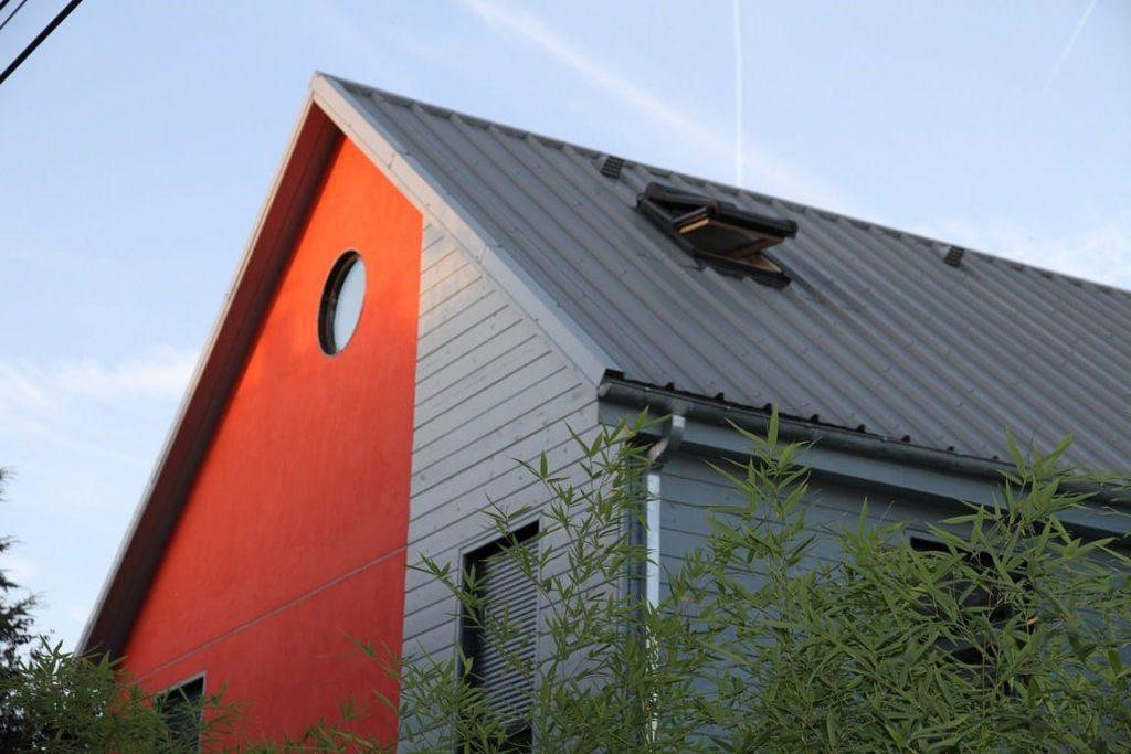 Maison en bois d'architecte - Toit