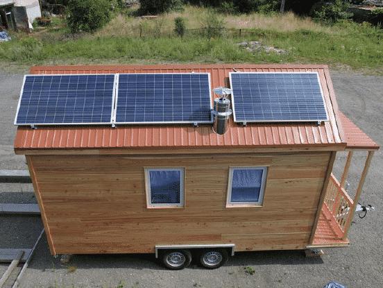 Acheter une Tiny House Hydi - Panneaux solaires