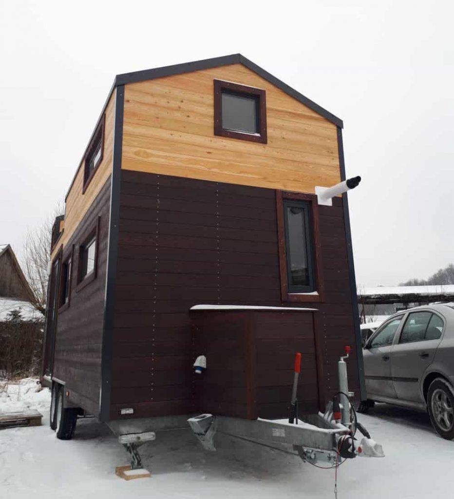 Acheter une Tiny House Lugano - Sous la neige