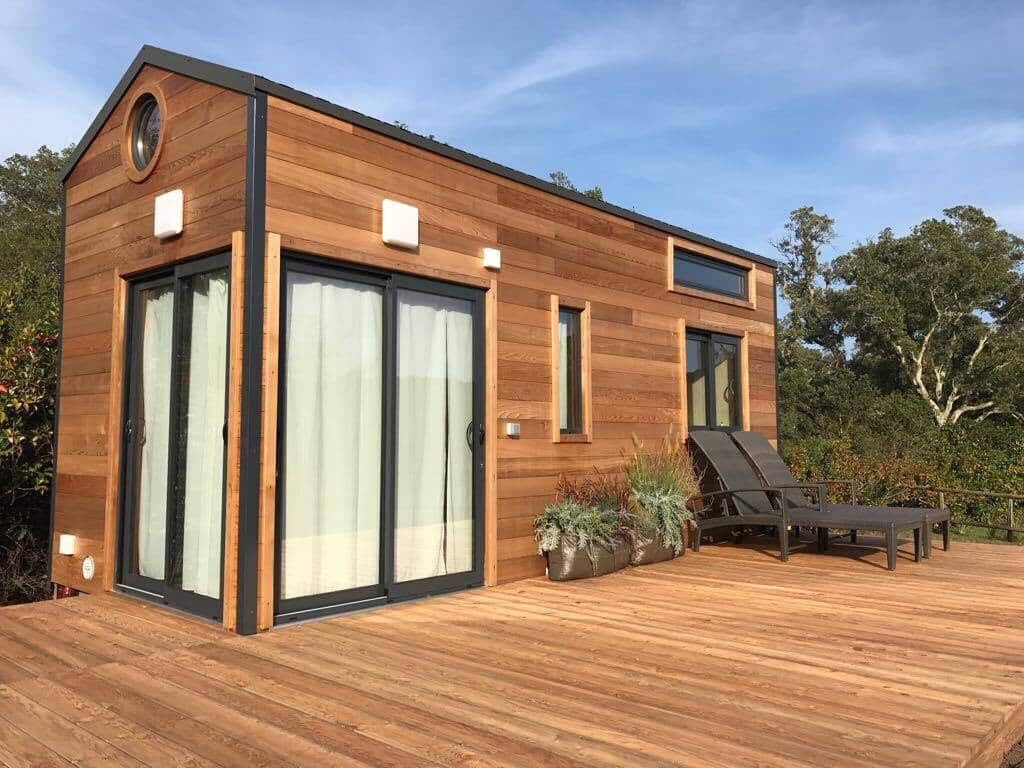 Acheter une Tiny House Colibri - Terrasse