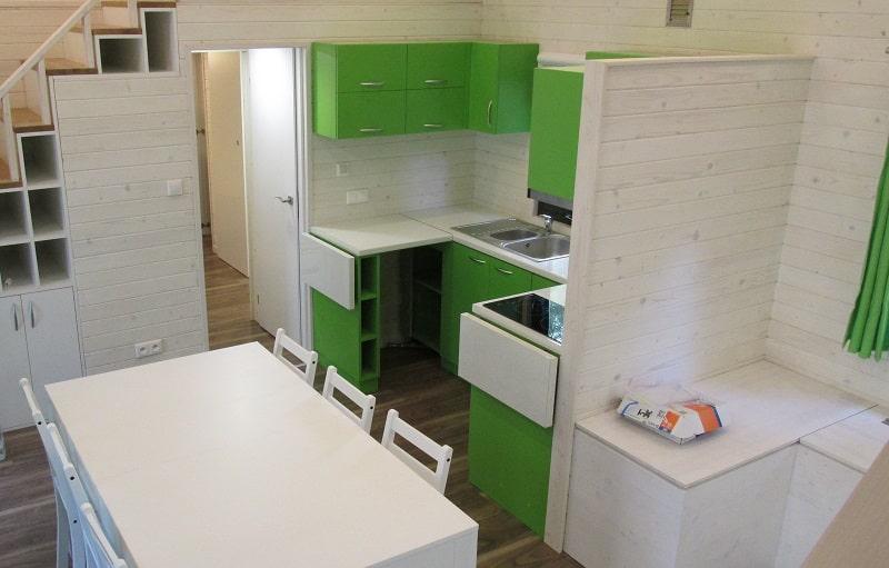 Cuisine et salle à manger kota finlandais
