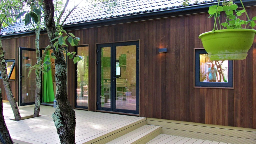 Lodge Kota vue de l'extérieur