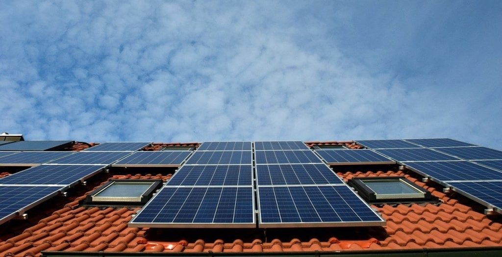 panneau solaire Tiny house