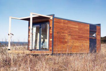 Studio de jardin en bois avec terrasse