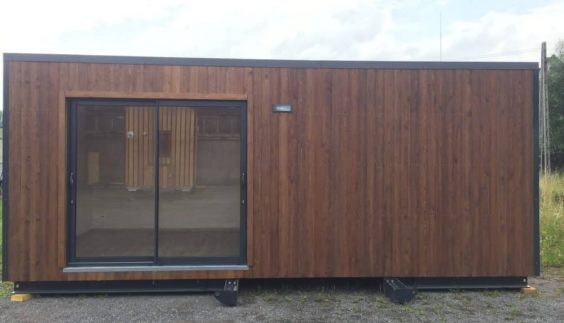 Studio de jardin Twenty Office installé sur le terrain
