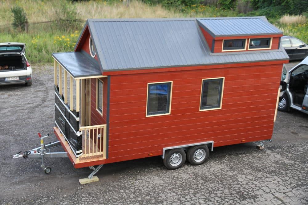 Acheter une Tiny House Hydi - rouge