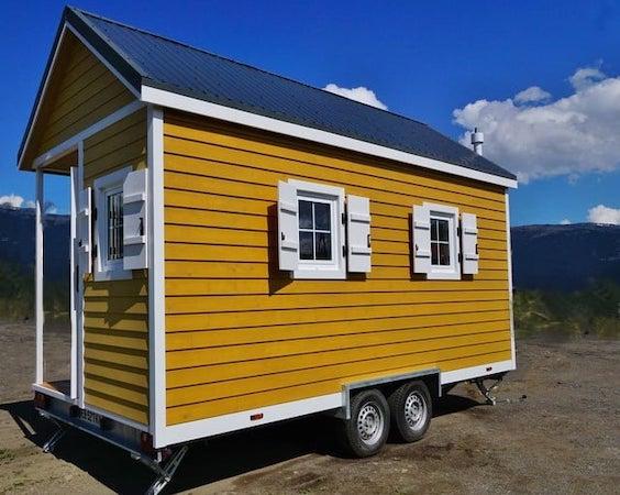 Tiny House Lotta sur un terrain