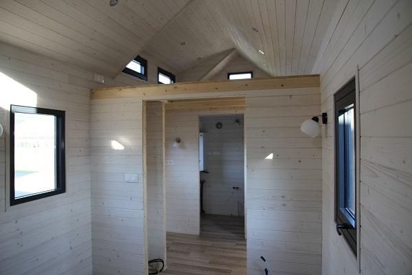 Les finitions intérieures de la Tiny House Montana
