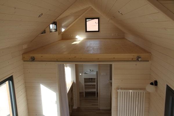 L'intérieur de la Tiny House Montana